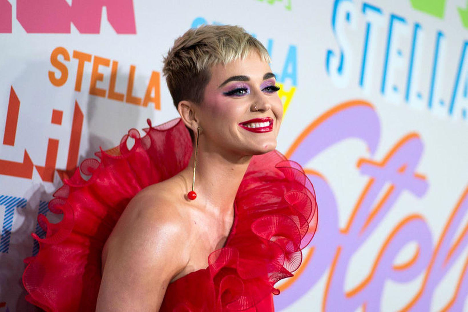 Katy Perry fór ekki eftir settum reglum þegar hún var …