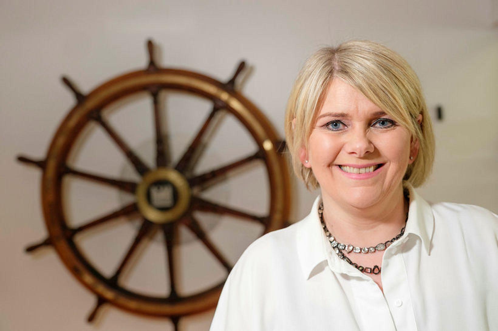 Ragnheiður Elín Árnadóttir, fyrrverandi iðnaðar- og viðskiptaráðherra,