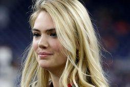 Kate Upton getur lyft 92 kílóum 12 sinnum í mjaðmalyftu.