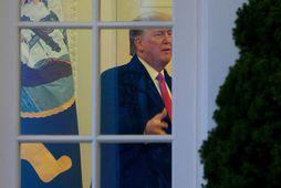 Um er að ræða fyrsta skiptið sem bandarísk stjórnvöld viðurkenna að Trump hafi komið með …