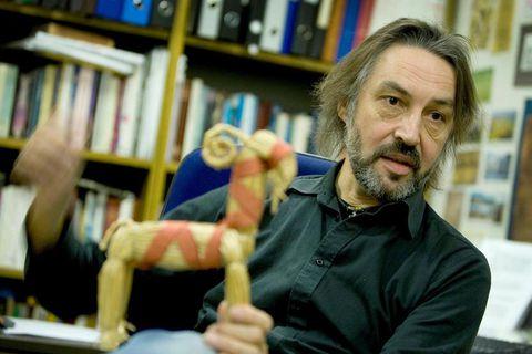 Professor Terry Gunnel is the man behind Sagnagrunnur