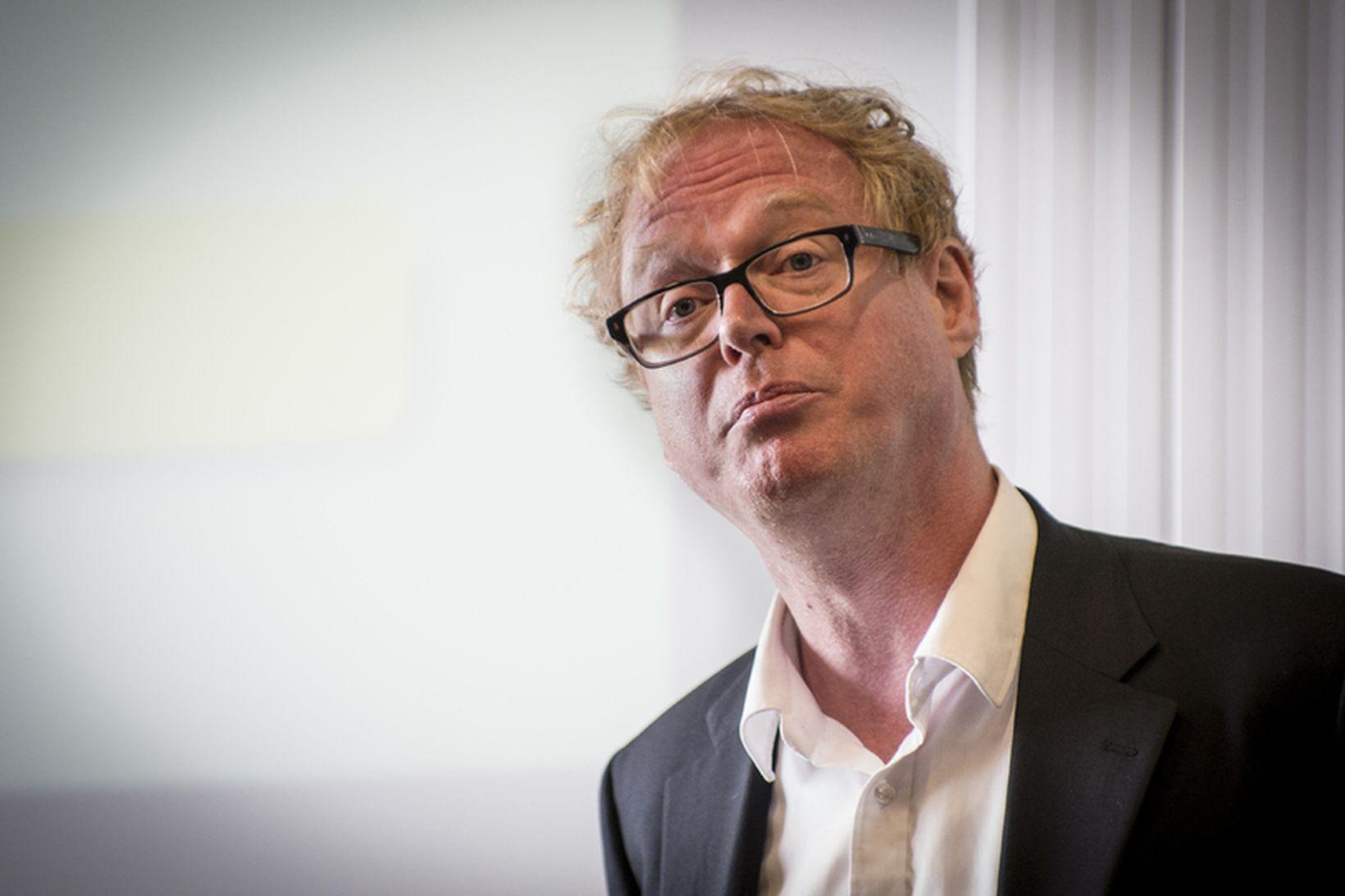 Jón Daníelsson, prófessor við LSE.