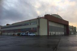 Flugskýli 831 á Keflavíkurflugvelli.