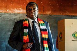 Emmerson Mnangagwa, forseti Simbabve.
