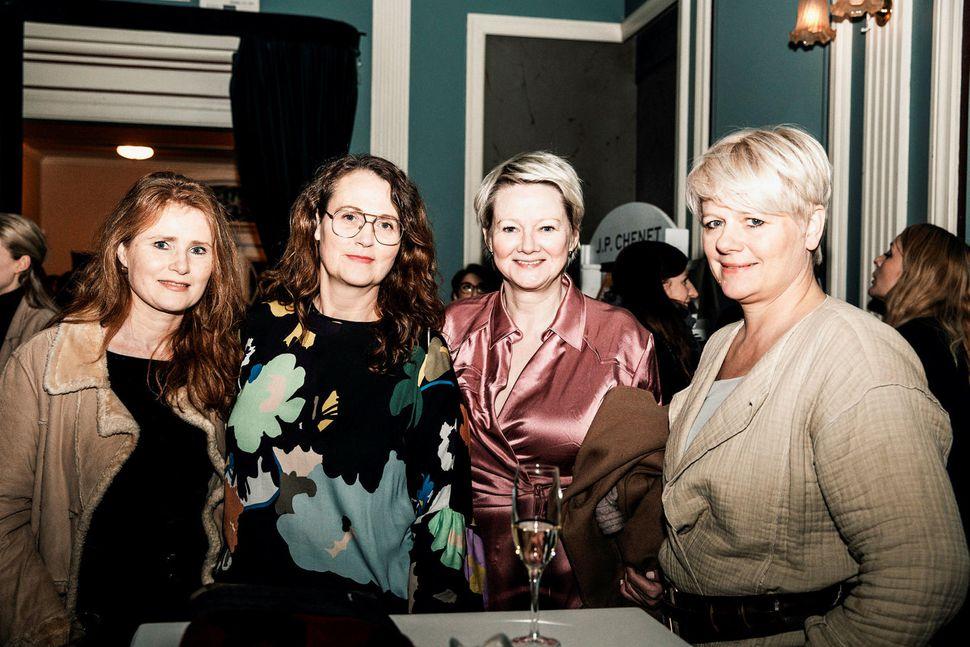 Eva Þengilsdóttir, Halla Helgadóttir, Arna Schram og Sigrún Birgisdóttir.