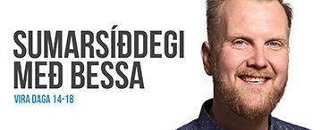 Sumarsíðdegi með Bessa