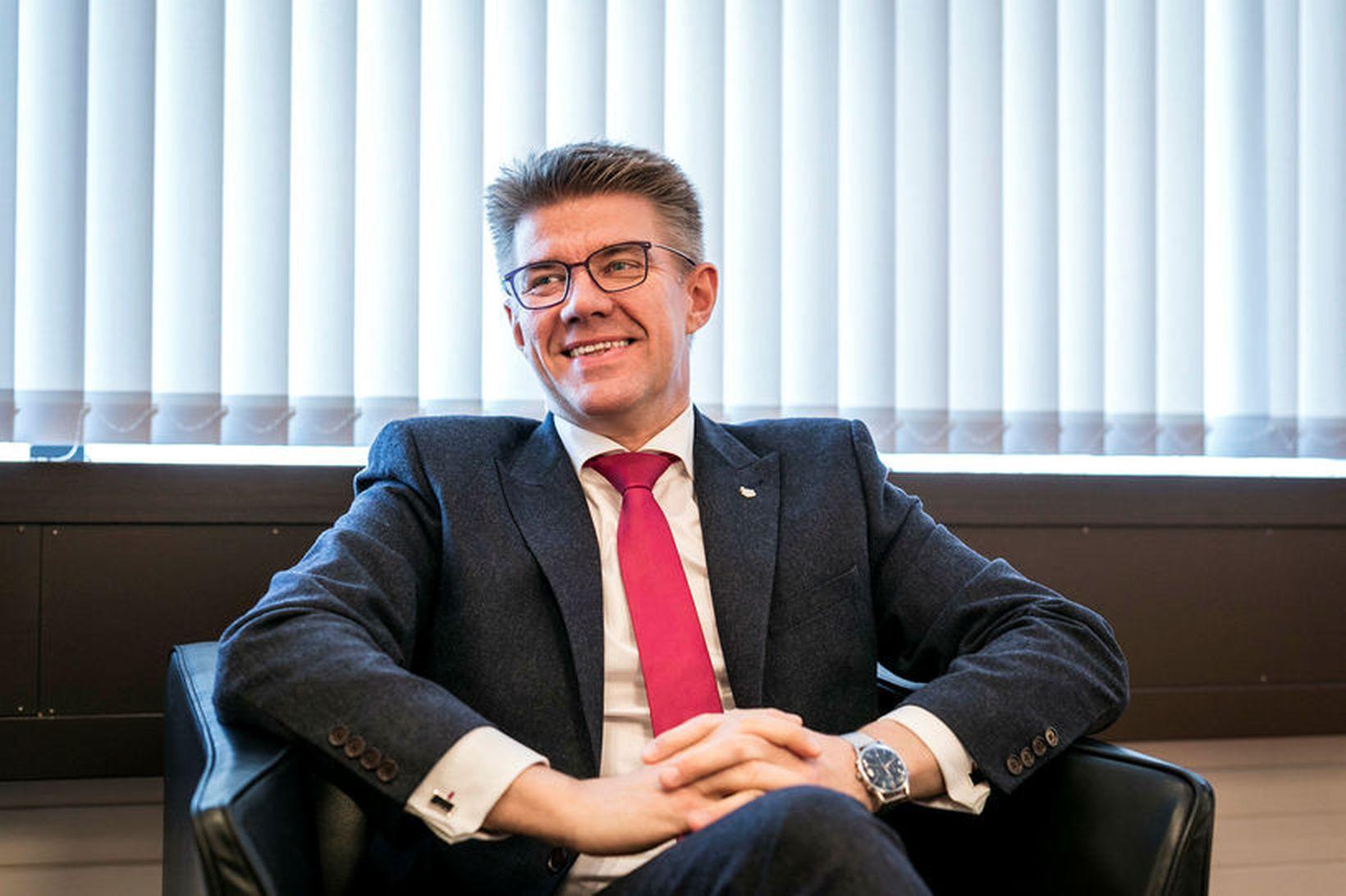 Gunnar Bragi Sveinsson, þingflokksformaður Miðflokksins og fyrrverandi utanríkisráðherra.