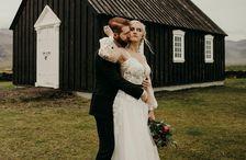 Alina og Þorvarður Bergmann áttu dásamlegan brúðkaupsdag á sínum tíma.