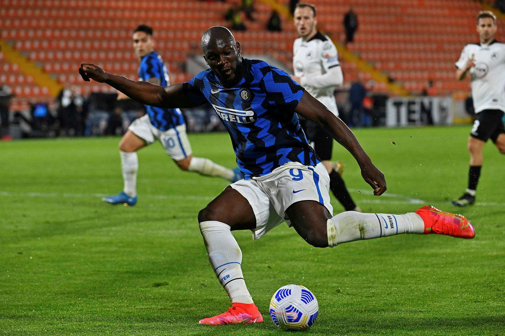 Romelu Lukaku er lykilmaður hjá Inter.