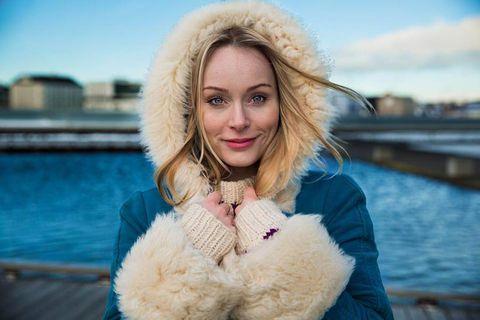 Þórunn Antonía Magnúsdóttir is one of seven women featured by Facebook Stories on International Women's Day.