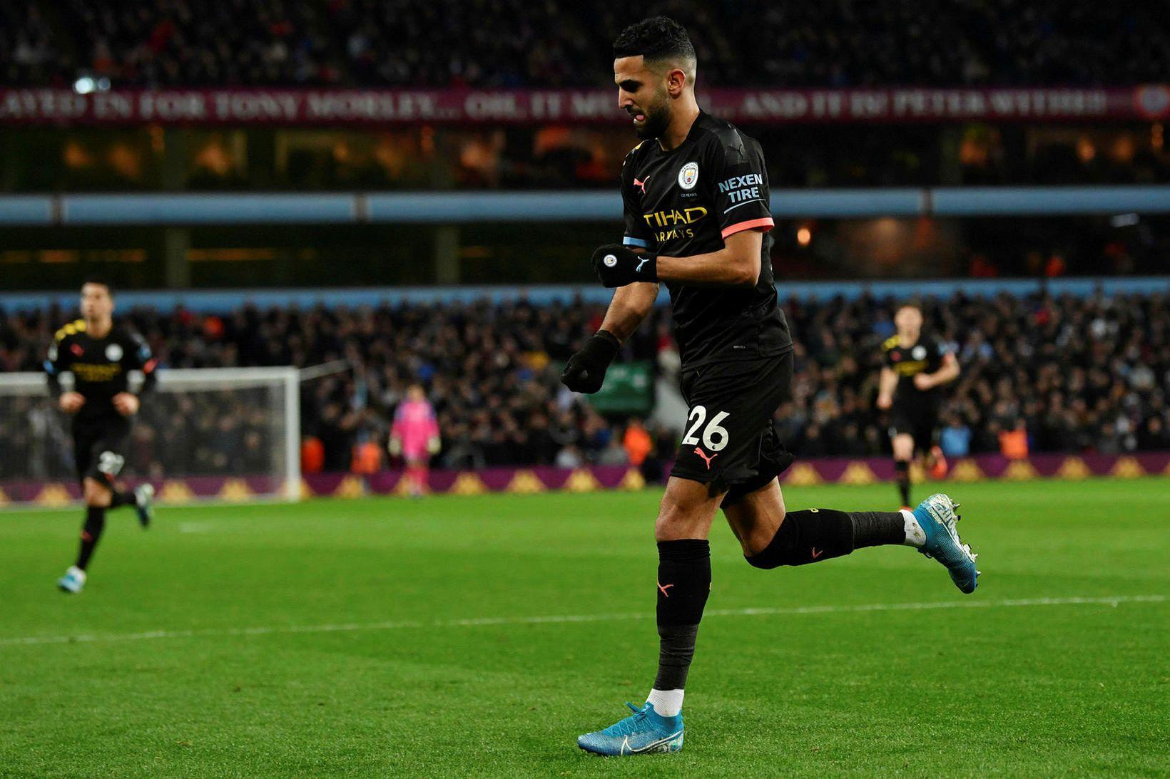 Riyad Mahrez hefur verið í fantaformi með Manchester City á …