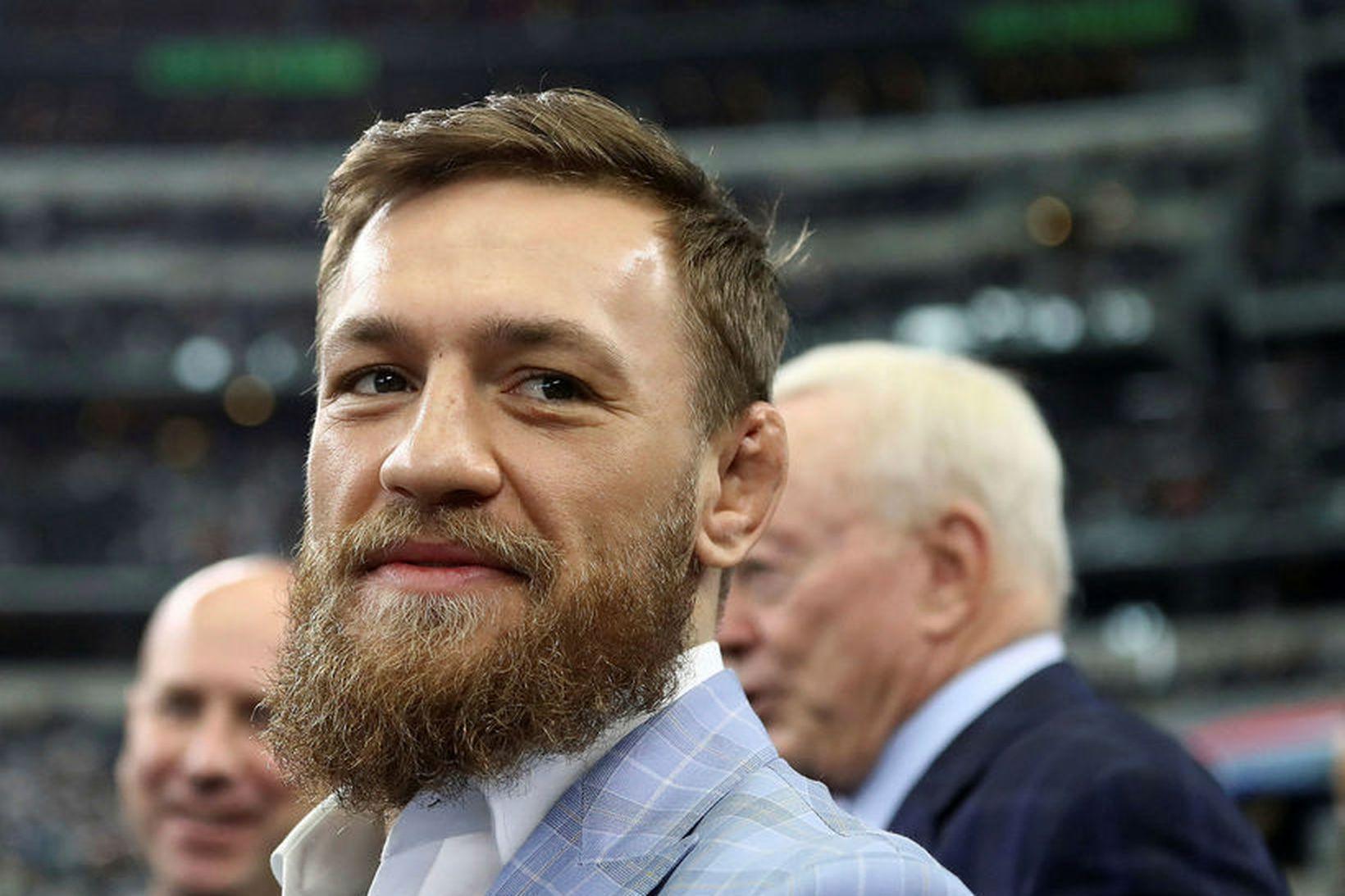 Conor McGregor hefur verið handtekinn oftar en einu sinni á …
