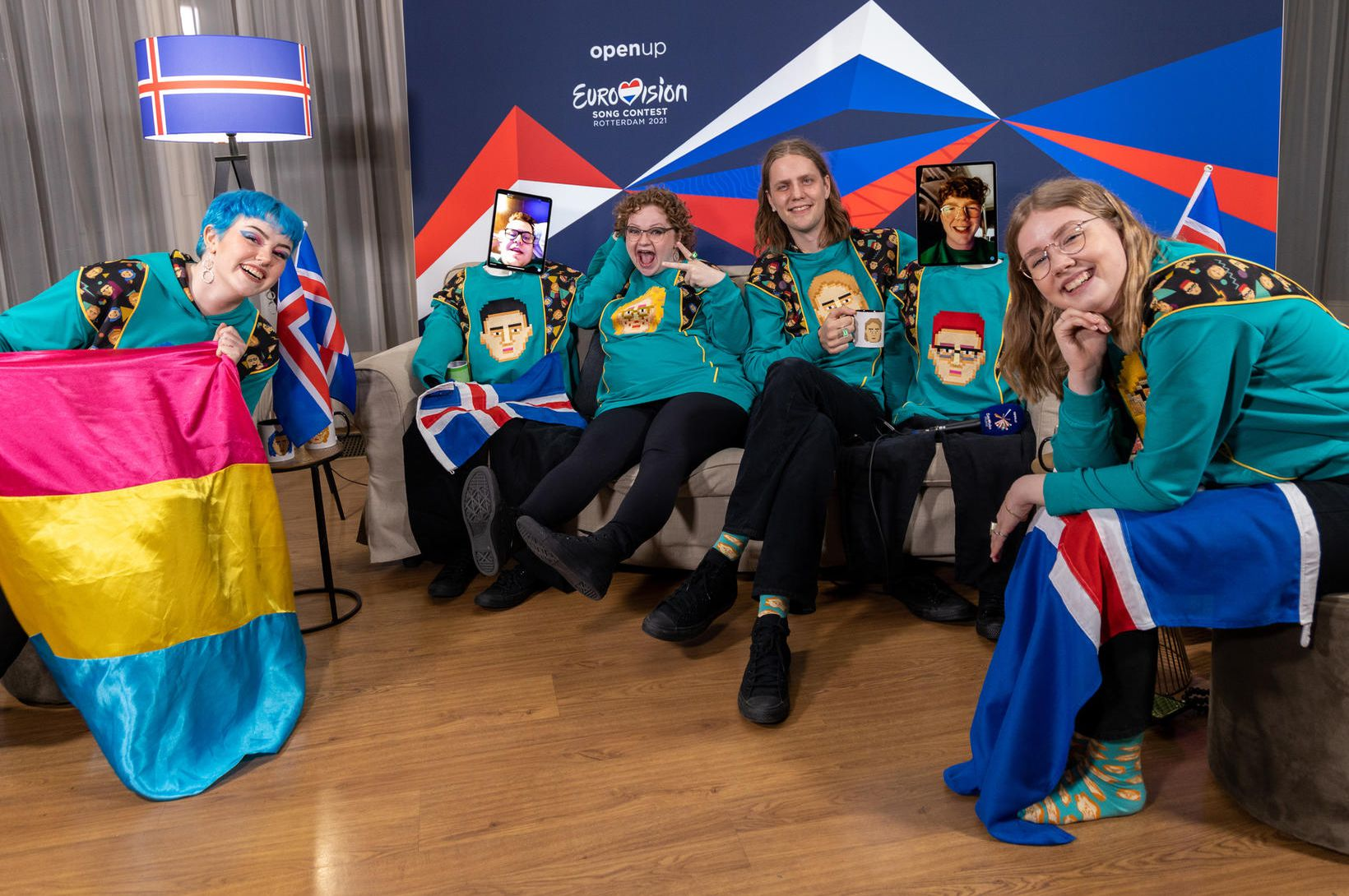 Engir fleiri greinst úr íslenska Eurovisionhópnum