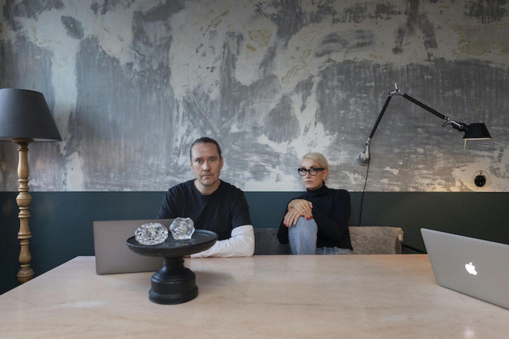 Gunnar Sverrisson og Halla Bára Gestsdóttir eru byrjuð með hlaðvarpsþátt …