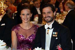 Carl Philip og Sofia Hellqvist eru með kórónuveiruna.