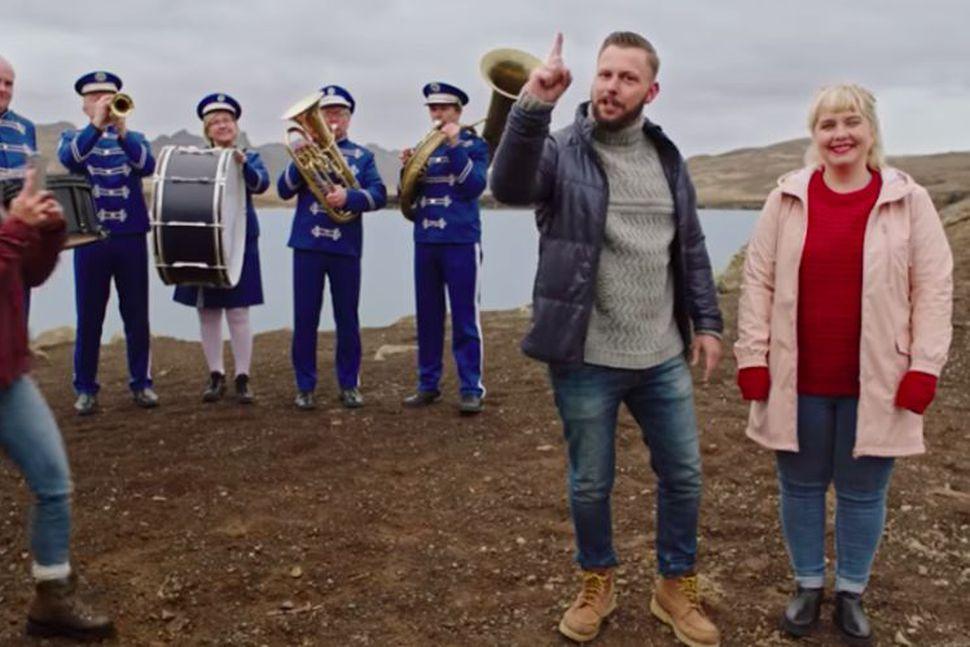 Steindi Jr og Anna Svava Knútsdóttir flytja skilaboðin um að ...