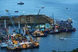 Flak Costa Concordia.