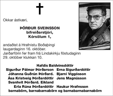 Þórður Sveinsson