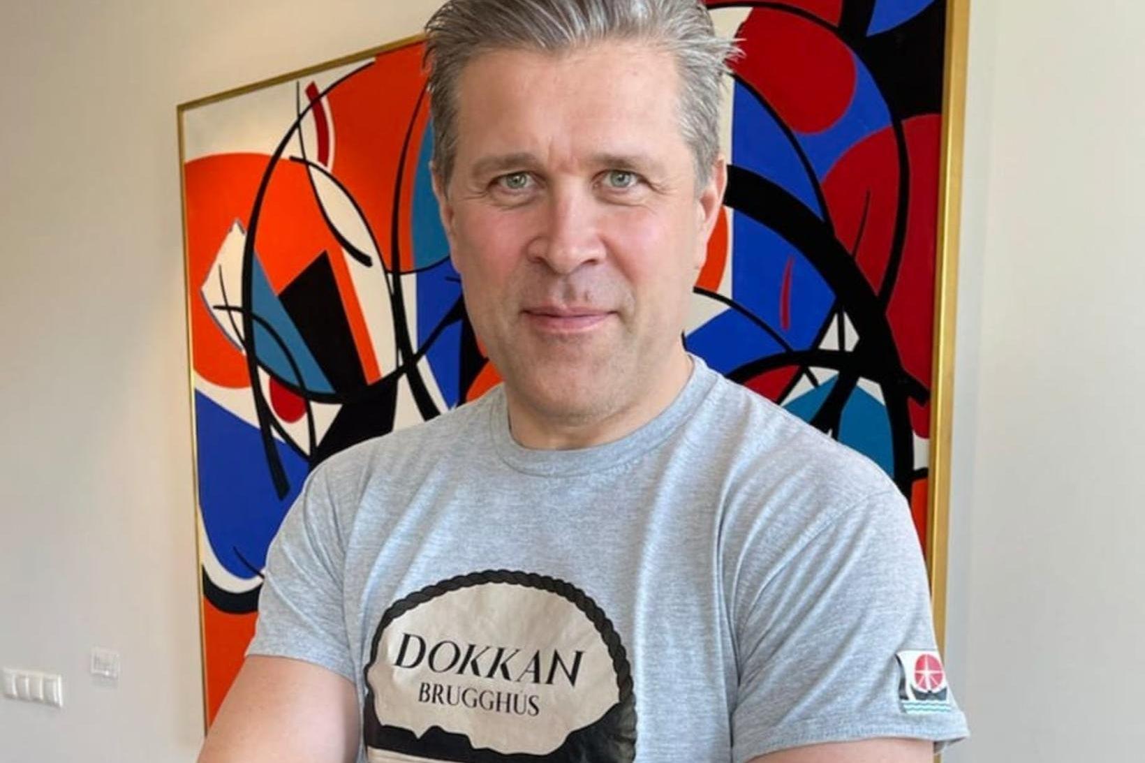 Bjarni Benediktsson hefur fengið fyrsta skammtinn af bóluefni AstraZeneca.