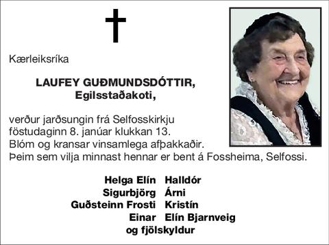 Laufey Guðmundsdóttir,