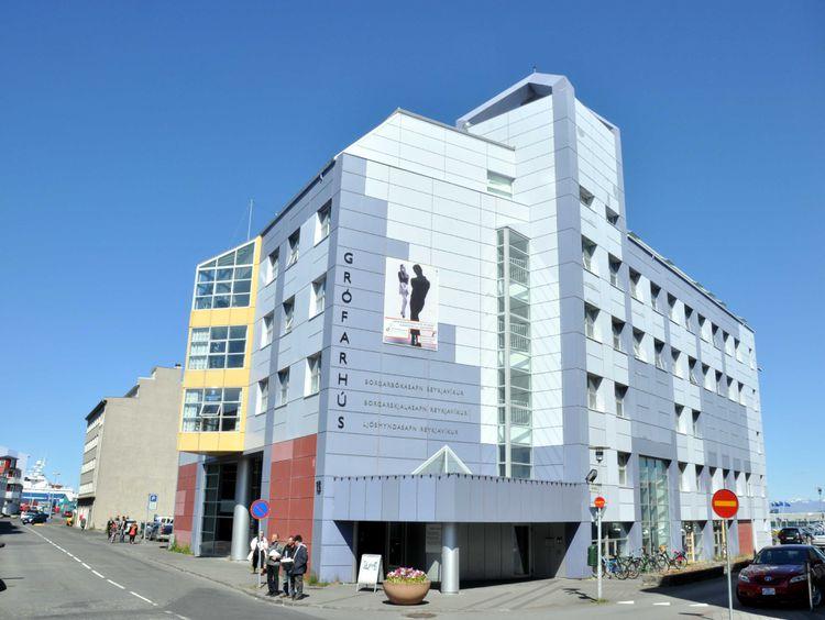 Reykjavík City Library - Grófin Culture House