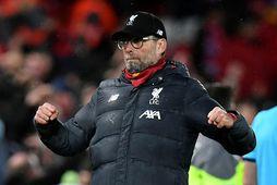 Jürgen Klopp tók við Liverpool í október 2015 og leiðin hefur legið upp á við …