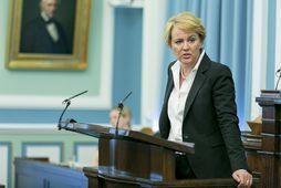 Hanna Birna Kristjánsdóttir innanríkisráðherra.