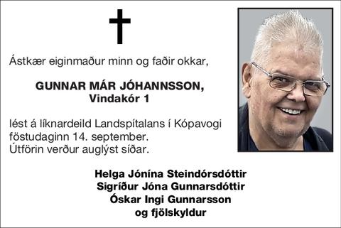 Gunnar Már Jóhannsson,