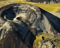 Grábrók is one of the best known mountain in West Iceland, even though it's very small.