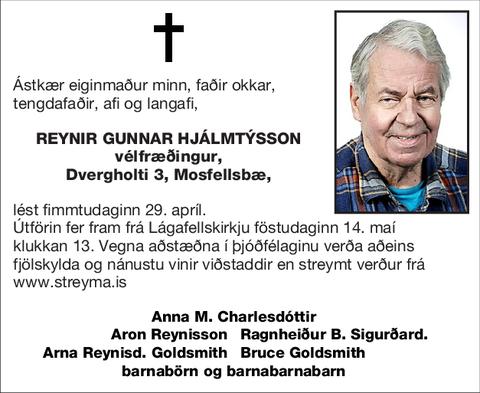Reynir Gunnar Hjálmtýsson