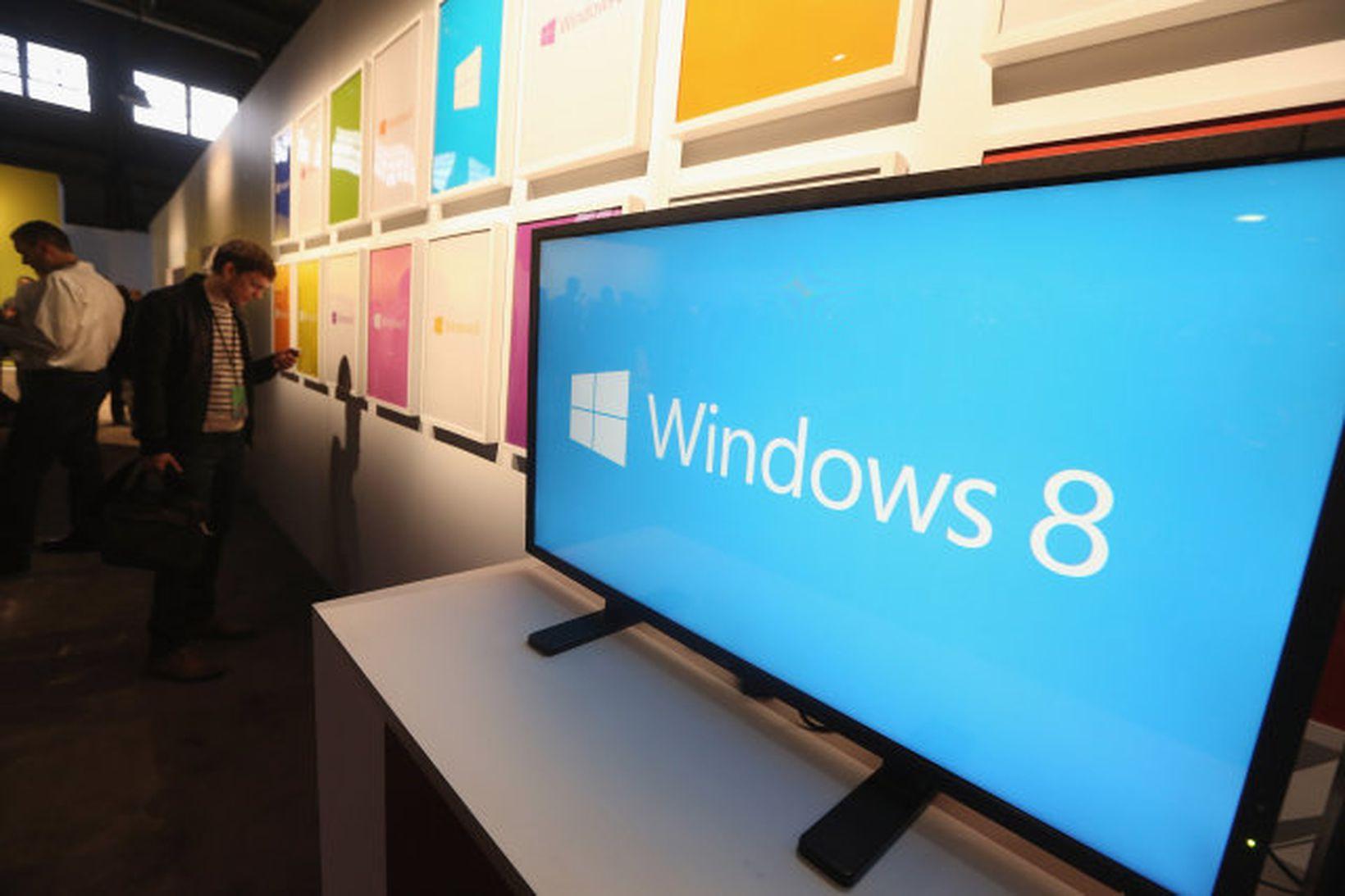 Windows 8 stýrikerfið er ekki lengur fáanlegt.