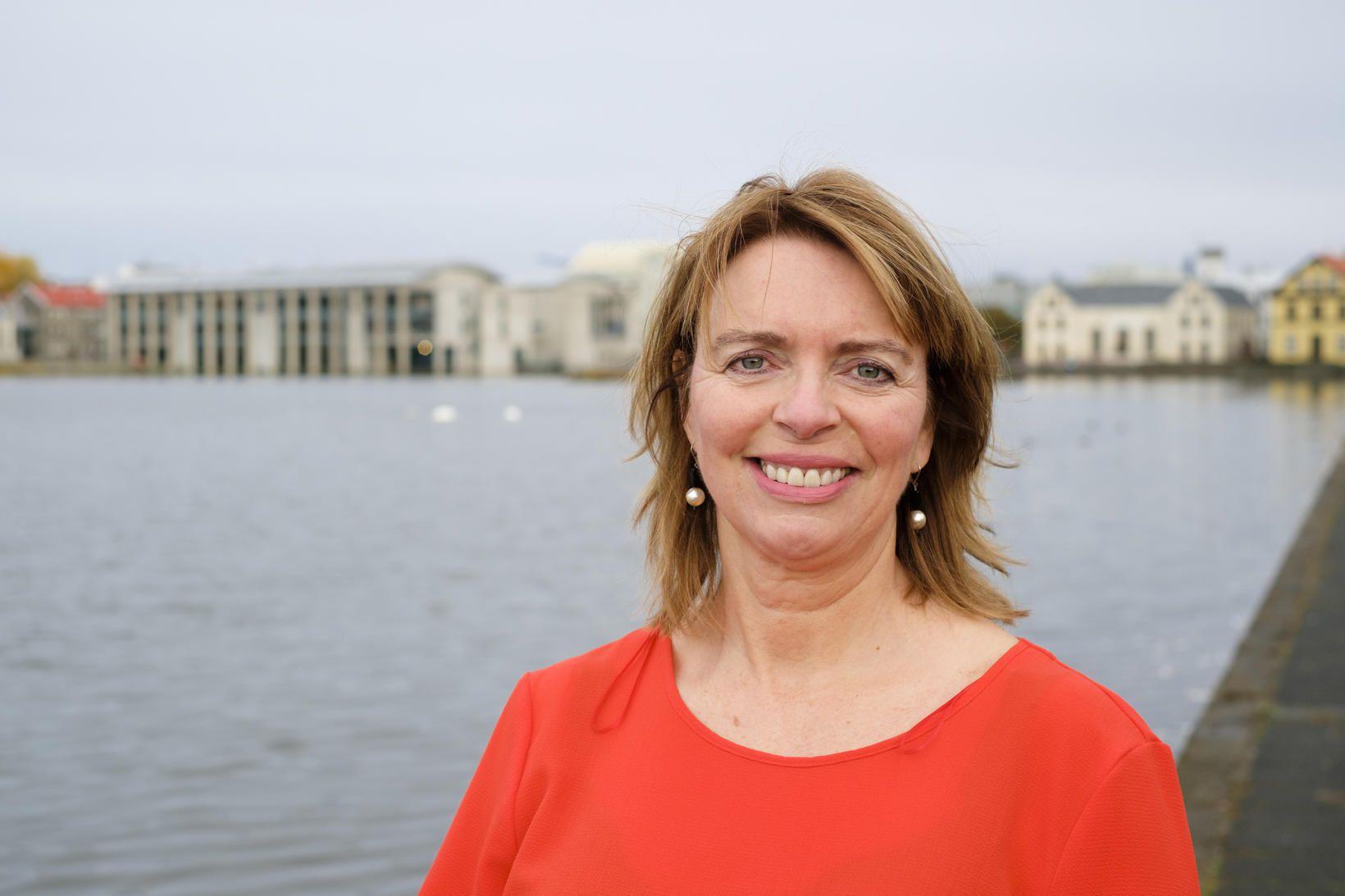 Margrét Reynisdóttir.