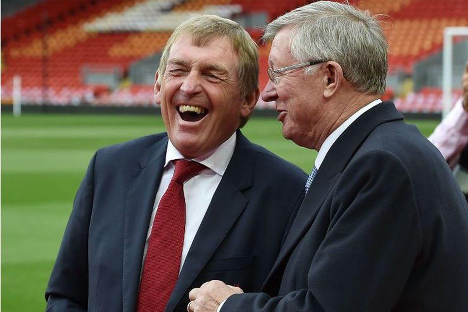 Sir Alex Ferguson og Sir Kenny Dalglish.