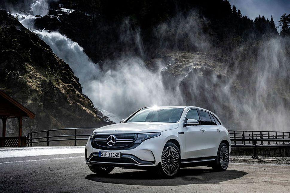 Mercedes-Benz EQC-bíllinn nýtur mikilla vinsælda hjá Öskju.