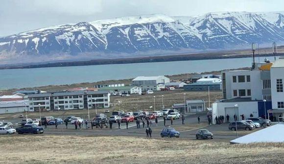 Vænta þess að fá niðurstöður sýnatöku í fyrramálið