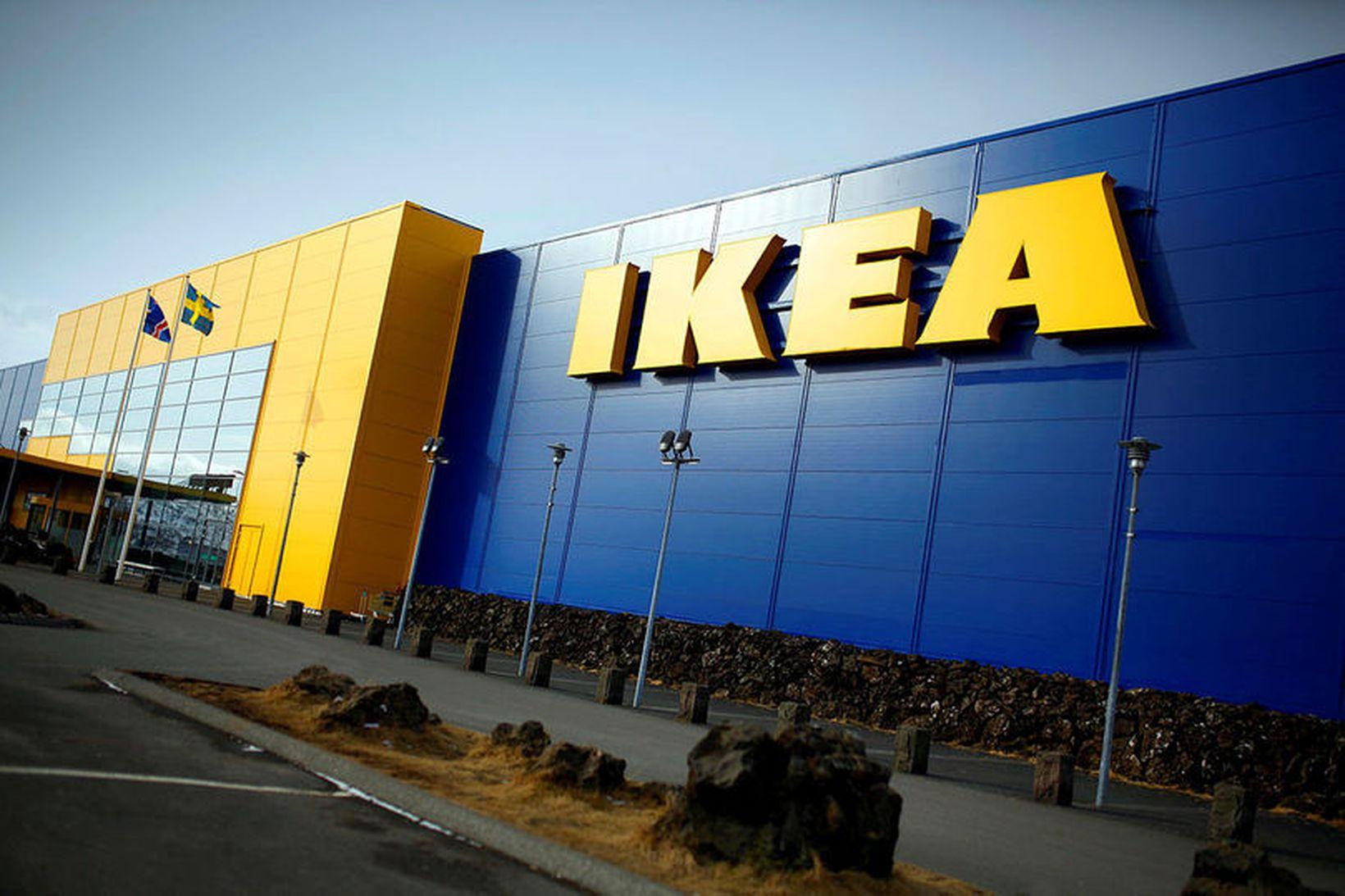 IKEA í Kauptúni.