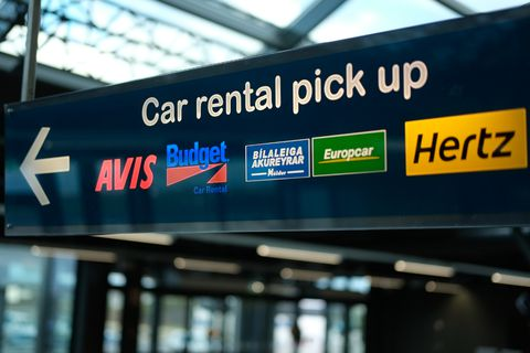 There are 21,500 rental cars in Iceland today