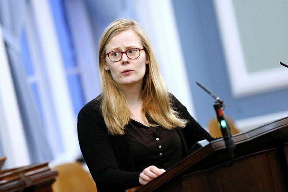 Ásta Guðrún Helgadóttir, þingmaður Pírata.
