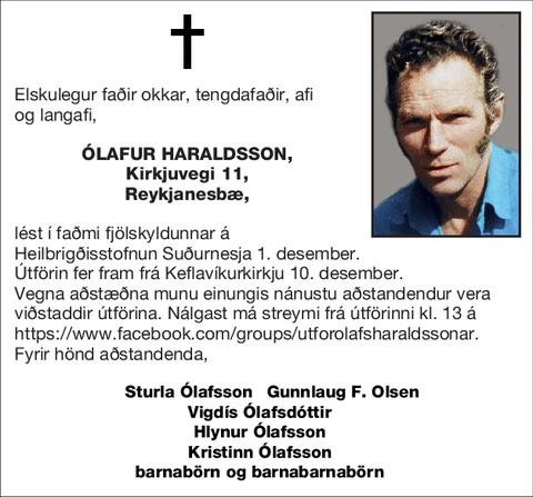 Ólafur Haraldsson,