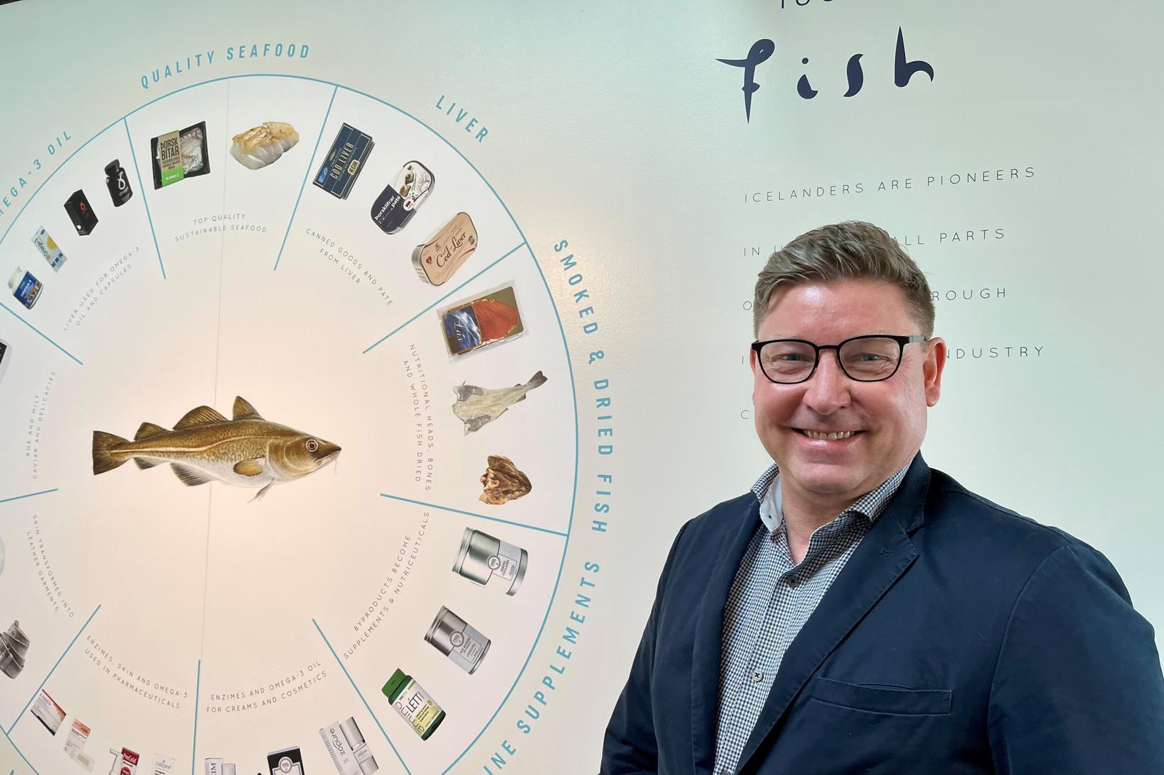 Konráð Olavsson er nýr sölu- og markaðsstjóri Maritech á Íslandi.