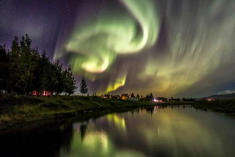 The Northern Lights can be impressive.