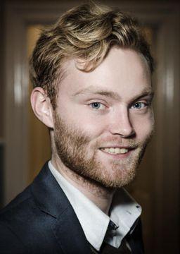 Stefán Rafn Sigubjörnsson formaður Ungra jafnaðarmanna.