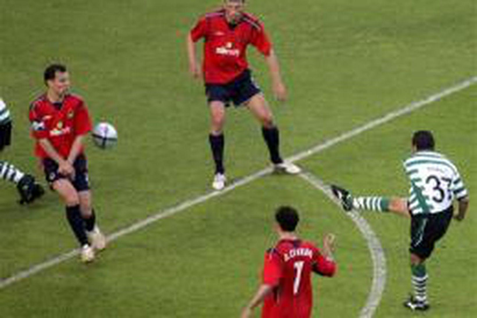 CSKA Moskva sigraði Sporting Lissabon í kvöld enda voru hinir …