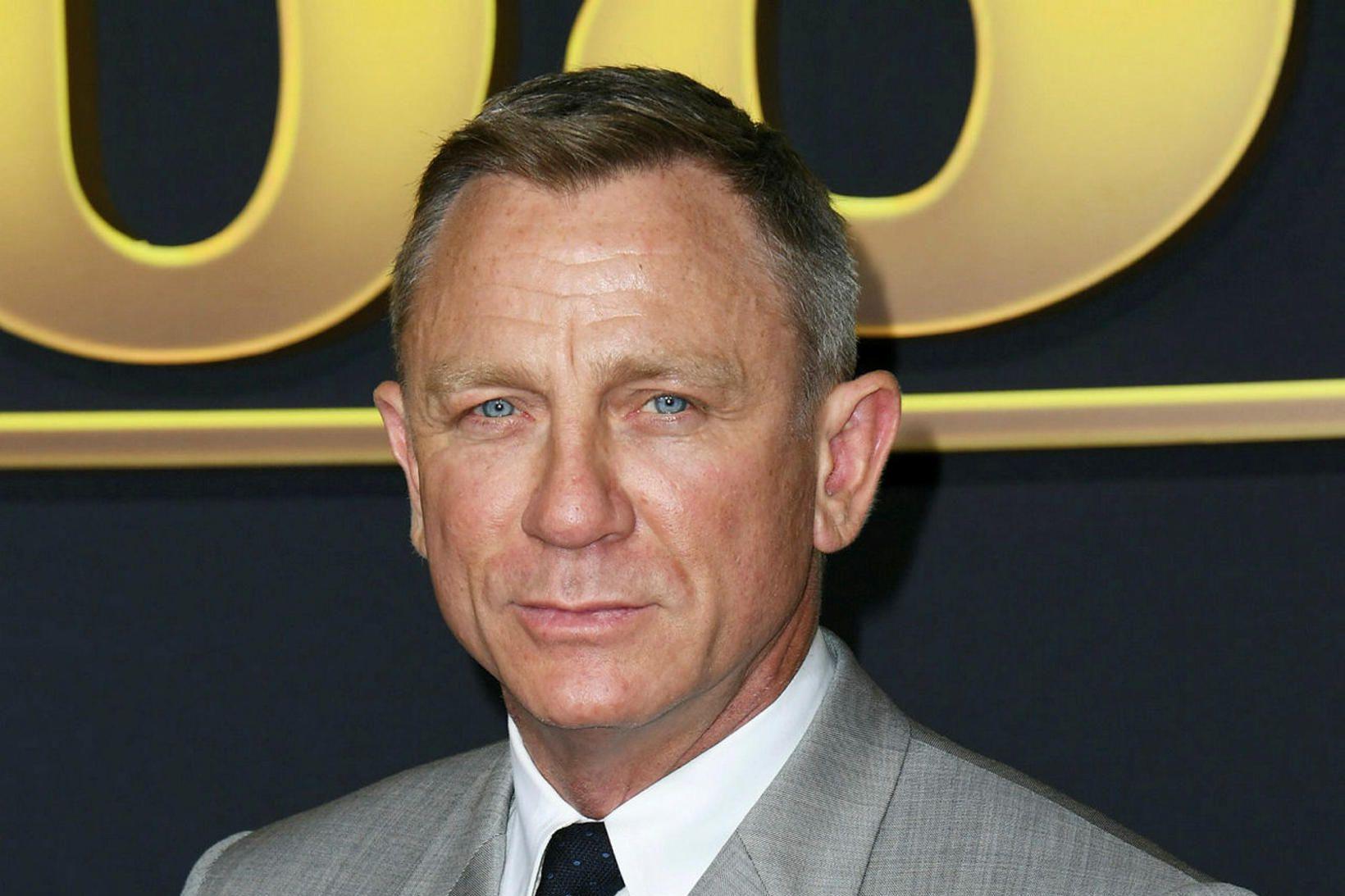 Daniel Craig leikur James Bond í sjötta sinn í nýjustu …