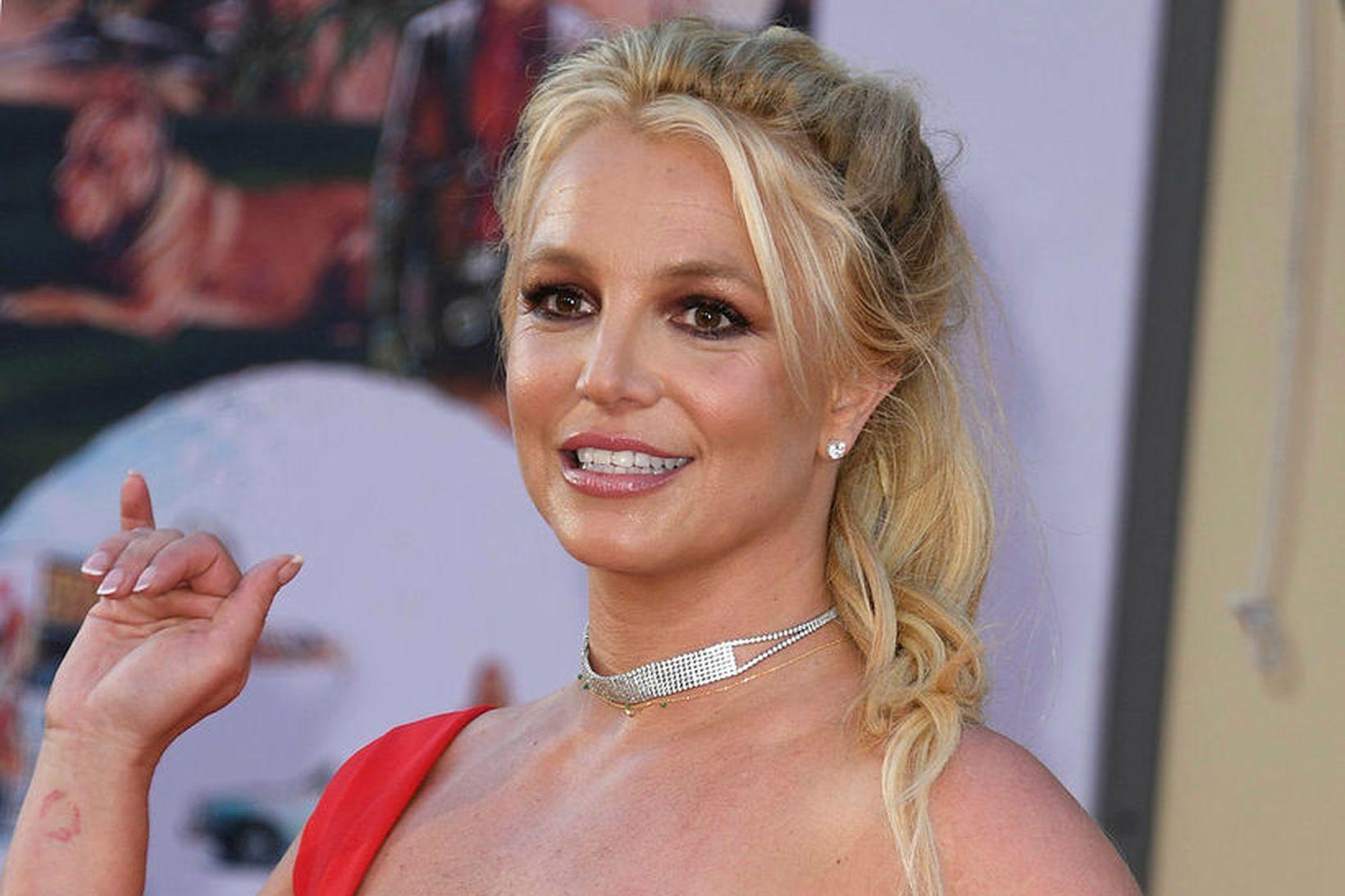 Búðin Target er greinilega í uppáhaldi hjá söngkonunni Britney Spears.