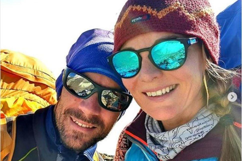 Aleš Česen og Vilborg Arna Gissurardóttir í Nepal.
