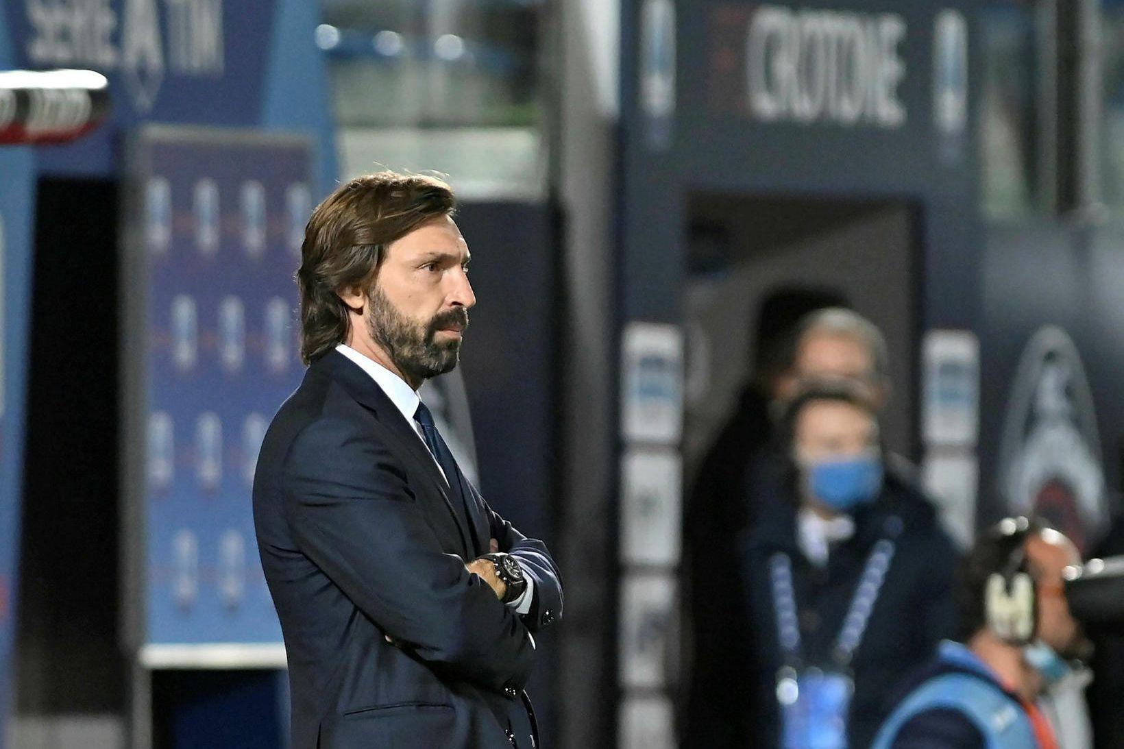 Andrea Pirlo stýrir Juventus.