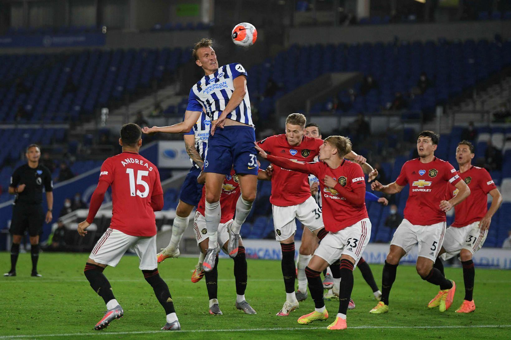 Manchester United fær Bournemouth í heimsókn í dag.