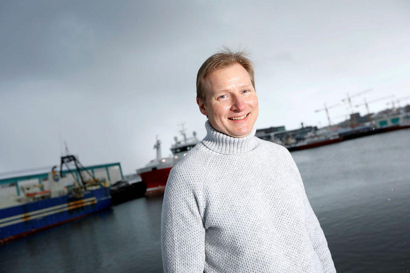 Bjarni Ármannsson kaupsýslumaður.