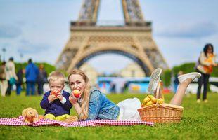 Matarvenjur franskra barna